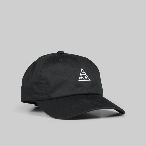 HUF TRIPLE TRIANGLE DAD CAP BLACK