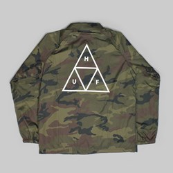 HUF TRIPLE TRIANGLE JACKET CAMO