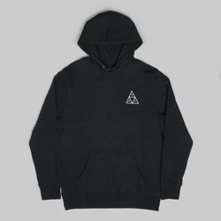 HUF TRIPLE TRIANGLE PO HOOD BLACK