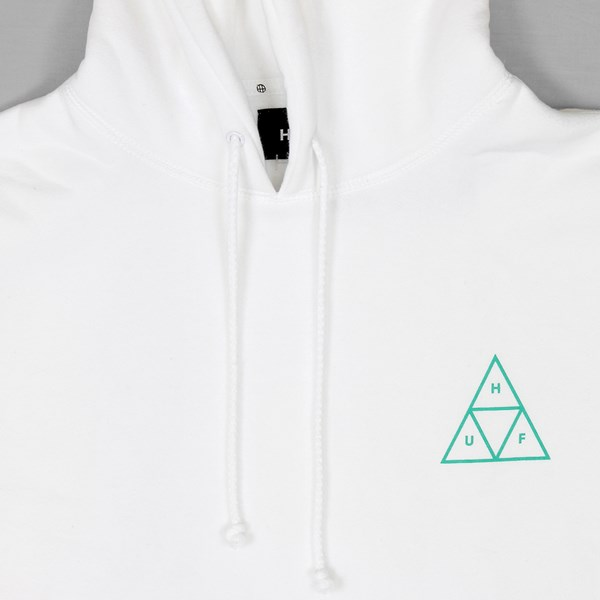 HUF TRIPLE TRIANGLE PO HOOD WHITE