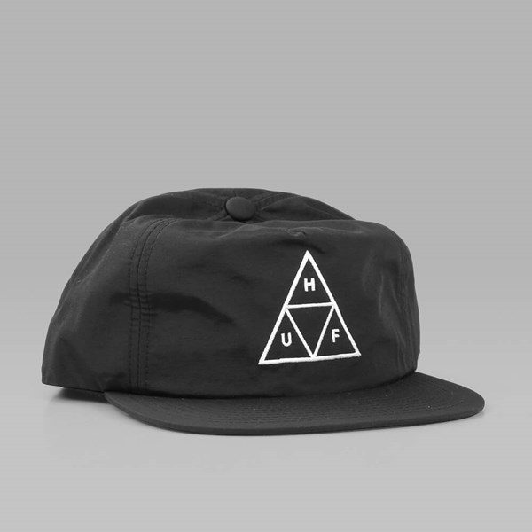 HUF TRIPLE TRIANGLE SNAPBACK CAP BLACK