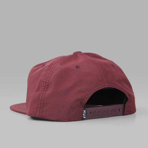 HUF TRIPLE TRIANGLE SNAPBACK CAP WINE