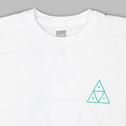 HUF TRIPLE TRIANGLE SS T-SHIRT WHITE