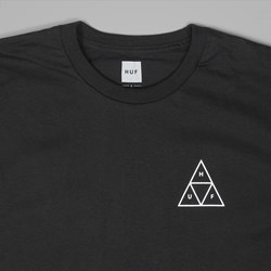 HUF TRIPLE TRIANGLE SS TEE BLACK