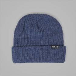 HUF USUAL BEANIE DENIM HEATHER