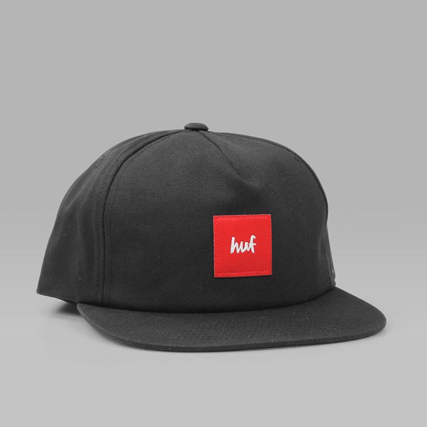 HUF X CHOCOLATE SNAPBACK CAP BLACK  ef5138cb45a