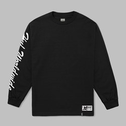 HUF X FELIX SANTEE LONG SLEEVE T-SHIRT BLACK