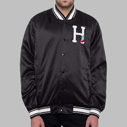 HUF X FELIX SATIN JACKET BLACK