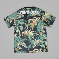 HUF X PENTHOUSE FOOTBALL JERSEY PALM PRINT
