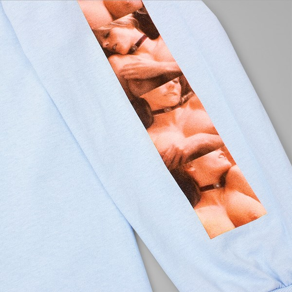 HUF X PENTHOUSE PHOTO LONG SLEEVE TEE LIGHT BLUE
