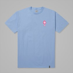 HUF X PINK PANTHER PINK BALL SS TEE LIGHT BLUE