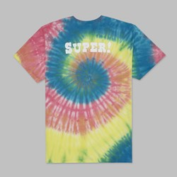 HUF X SOUTH PARK BIG GAY AL TIE DYE SS T-SHIRT MULTI