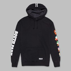 HUF X SOUTH PARK 'KIDS' PO HOODIE BLACK
