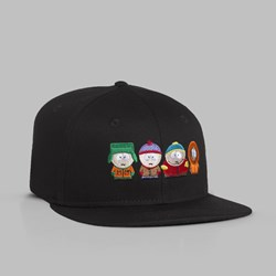 HUF X SOUTH PARK 'KIDS' STRAPBACK CAP BLACK