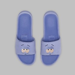 HUF X SOUTH PARK TOWELIE SLIDERS PURPLE