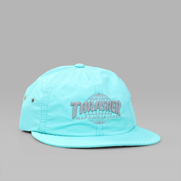HUF X THRASHER TDS 6 PANEL DAD CAP MINT