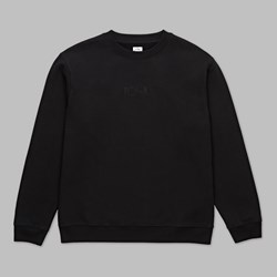 POLAR SKATE CO. HEAVYWEIGHT DEFAULT CREW BLACK
