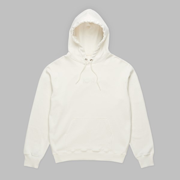 POLAR SKATE CO. HEAVYWEIGHT HOOD IVORY