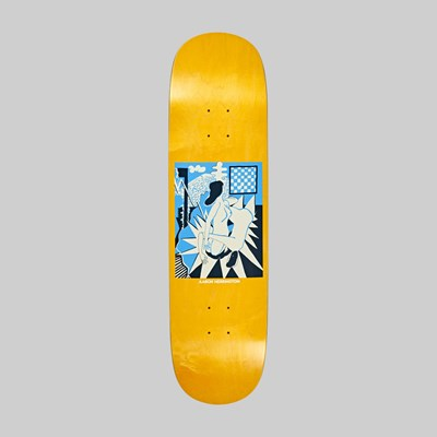 POLAR SKATE CO. HERRINGTON 69 WOOD GRAIN P2 8.5