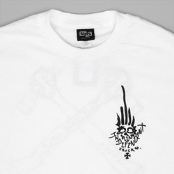 INDEPENDENT X JASON JESSEE TEE MAN CLUB WHITE