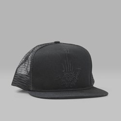 INDEPENDENT X JASON JESSEE TRUCKER CAP BLACK