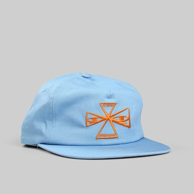 INDY X RAY BARBEE CROSS CAP POWDER BLUE