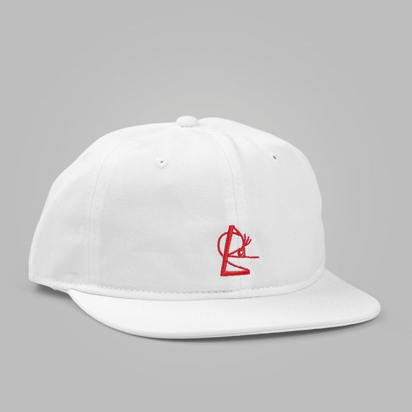 ISLE SKATEBOARDS SNAPBACK WHITE RED