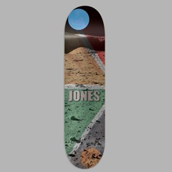 ISLE SKATEBOARDS LUNAR CHRIS JONES DECK 8.5""