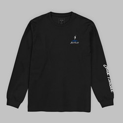 POLAR X CONVERSE LONG SLEEVE TEE BLACK