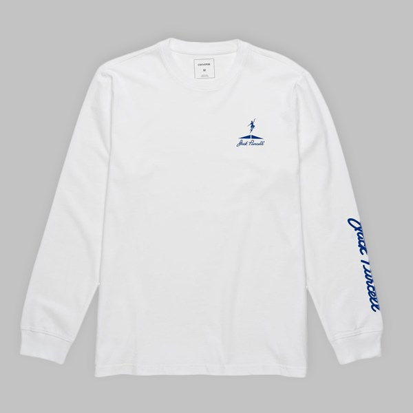 POLAR X CONVERSE LONG SLEEVE TEE WHITE