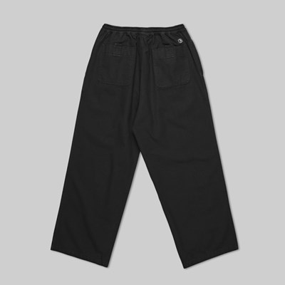 POLAR SKATE CO. KARATE PANTS BLACK