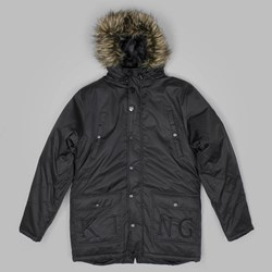 KING NOIR PARKA JACKET BLACK