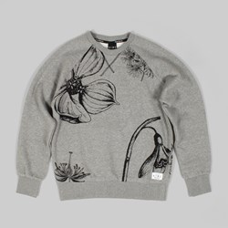 King Apparel Botanic Crew Grey