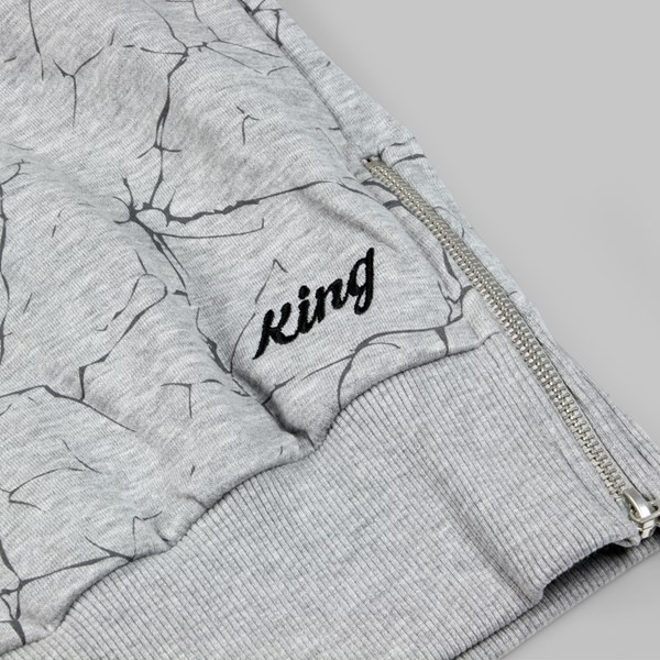 King Apparel Ethics Crew Heather Grey