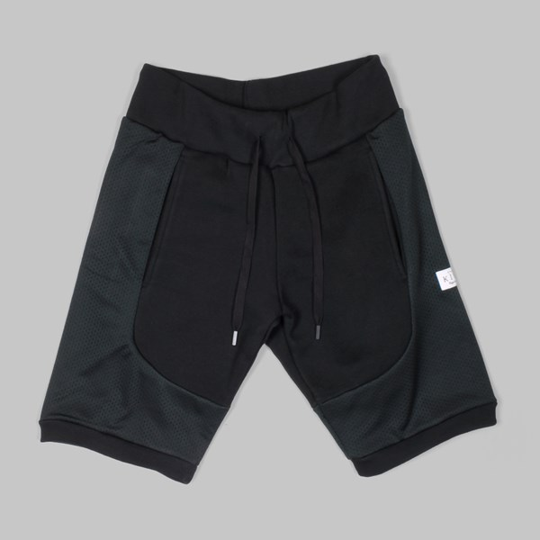 King Apparel Perf Tapered Short Black