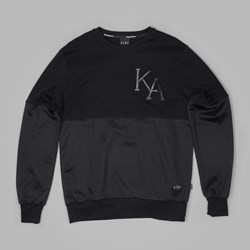 King Apparel Vector Crew Sweatshirt Black