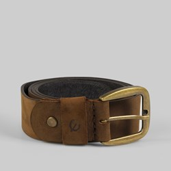 Kjore Project Bold Leather Belt 110cm Brown