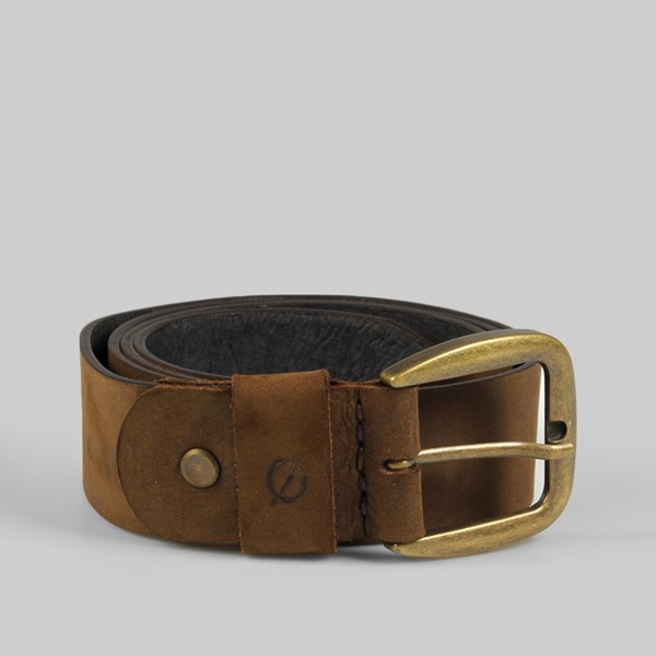 Kjore Project Bold Leather Belt 120cm Brown