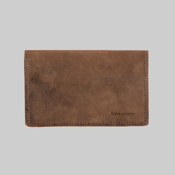 Kjore Project Leather Passport & Travel Wallet