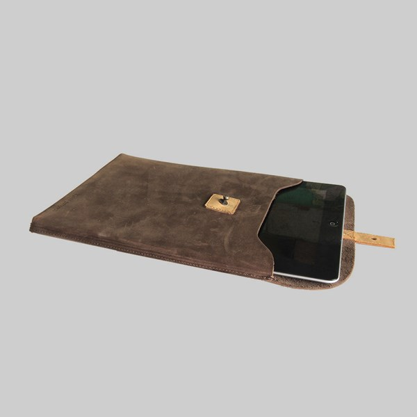 Kjore Project iPad 2-4 Leather Sleeve Brown