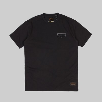 LEVI'S SKATEBOARDING GRAPHIC SS T-SHIRT BLACK