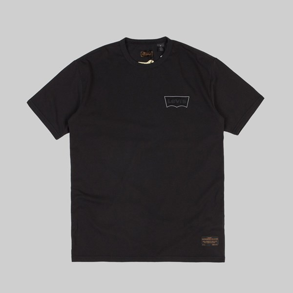 LEVI'S SKATE GRAPHIC SS TEE BATWING BLACK