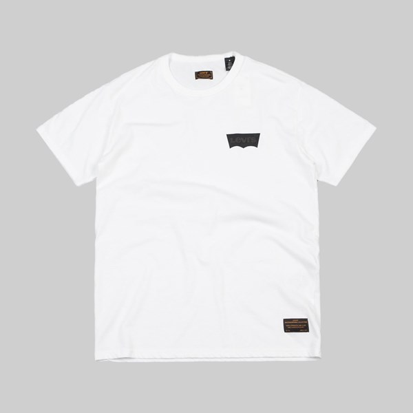 LEVI'S SKATE GRAPHIC SS TEE BATWING WHITE
