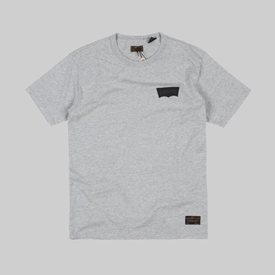 LEVI'S SKATE GRAPHIC SS TEE BATWING GREY