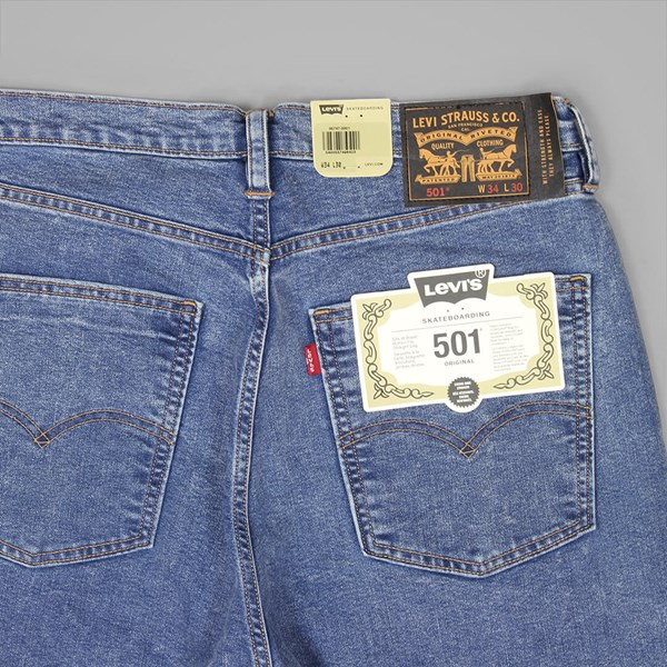 LEVI'S 501 ORIGINAL FIT NO WALLENBERG WASH