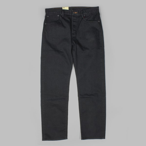 LEVI'S 501 STANDARD FIT 5 POCKET JEANS DARK RINSE