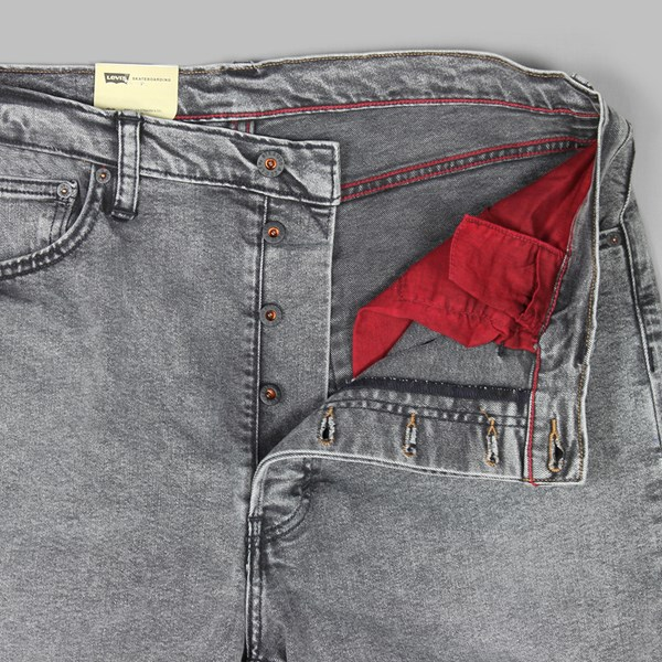 LEVI'S 501 STANDARD FIT 5 POCKET JEANS NO COMPLY