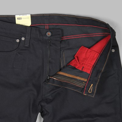 LEVI'S 512 SLIM FIT 5 POCKET JEANS CAVIAR BULL