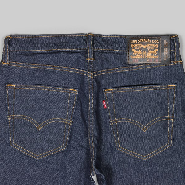 LEVI'S 512 SLIM FIT 5 POCKET JEANS RINSE INDIGO