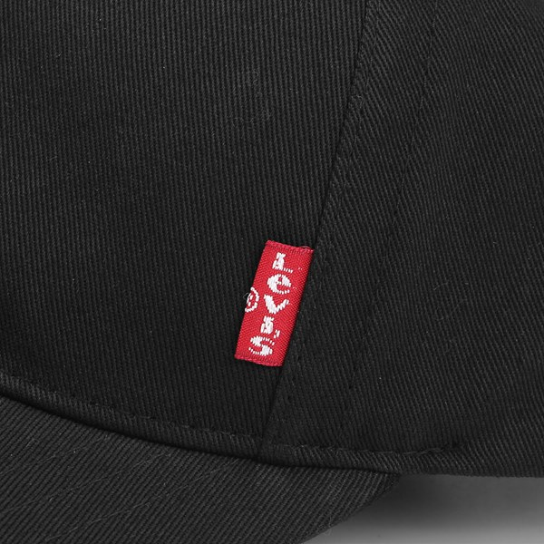 7fb3e776434 LEVI S CLASSIC TWILL RED TAB BASEBALL CAP BLACK